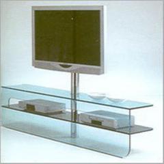 Glass TV Console