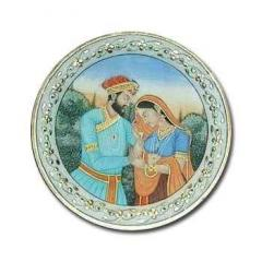 Marble Handicrafts Plates