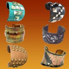 Fashion Cufflinks/Bracelets