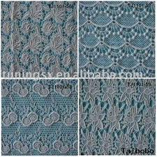 Embroidered fabrics for clothing