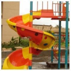 Children's slide FRP Spiral Slide