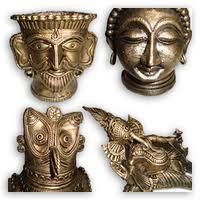 Artistic brass art ware