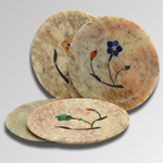 Soft Stone Inlayed Coasters