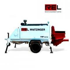 Trailer Mounted Concrete Pump (Model THP 60D & THP 45D)