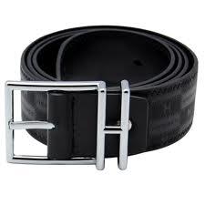 Black Leather Belt Woman