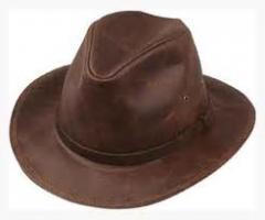Safari Leather hats