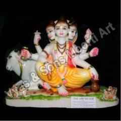 Coloured Datta Treya Statues