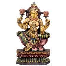 Wooden Goddess Statues