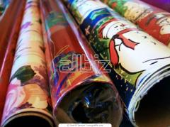 Gift packing paper