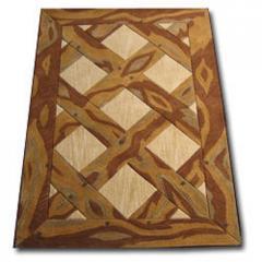 Carpets of wool
