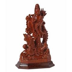 Dragon Buddha statuette
