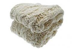 Hand-knitted Throws