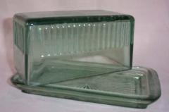 Recyclee Glass Butter Dish