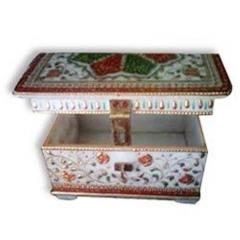 Marble handicraft box