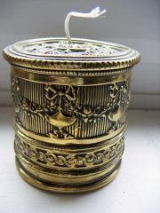 Brass String Box