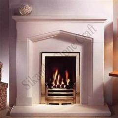 Roman Fireplace