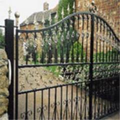 Gate, Wrought iron gates 03