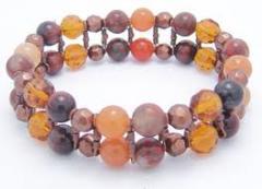 Bracelets with Semi-Precious Stones