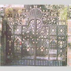 Gate, Wrought iron gates 016