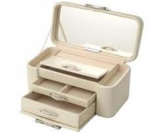 White Jewellery Leather Boxes