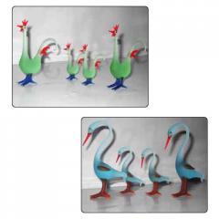 Glass Handicraft Statues