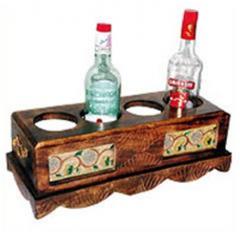 Wooden Bottle Holders