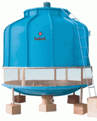 Frp Induced Draft Cooling Tower Round Model