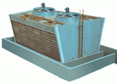 Wooden Induced Draft Cooling Tower