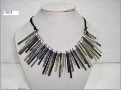 Designer Metal Necklace with Multi Color Plating