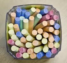 School chalk