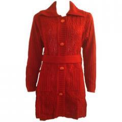 Knitted overcoat