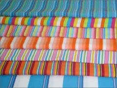 Striped knitted fabrics