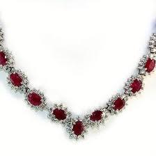Ruby Necklace jewelry