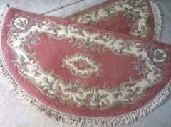 Half-woolen rugs