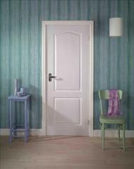 Door, 2 Panel Arch Textured