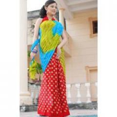 Multicolor Fancy Sarees