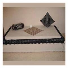 Applique Cushion Covers