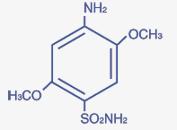 4-Aminio 2:5 Dimethoxy Benzene Sulphonamide