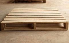 Four Way Non Reversible Wooden Pallet