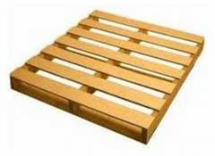 Two Way Reversible Wooden Pallet