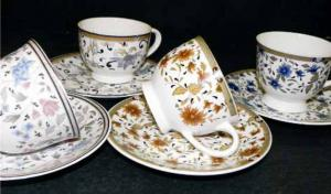 Bone China Cup and Saucer Set