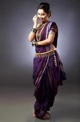Nauvari Saree