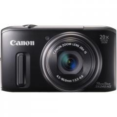 Canon PowerShot SX240 HS Digital Camera (Black)