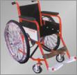 Deluxe Folding Wheel Chair