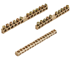 Brass Neutral Links, Terminal Blocks