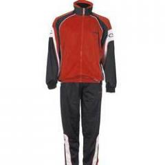 Men's knitted track suit