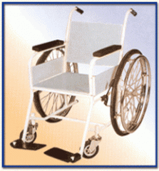 Wheel Chair Non Folding With Special Iron Seat
