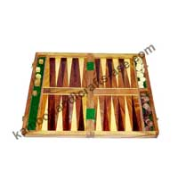 Wooden Backgammon
