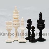 Bone Chess Pieces