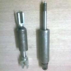 Lockable gas springs